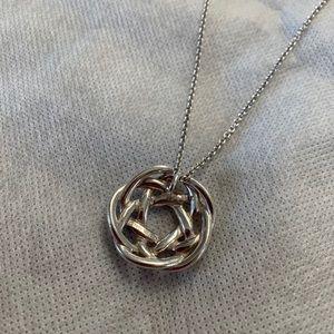 Tiffany & Co. Jewelry - tiffany & co love knot necklace